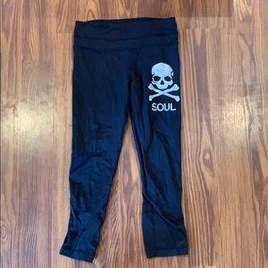 Lululemon SoulCycle cropped leggings